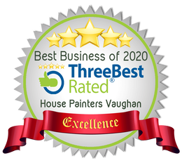 House Painters Vaughan winner of 3 best painters in Vaughan badge