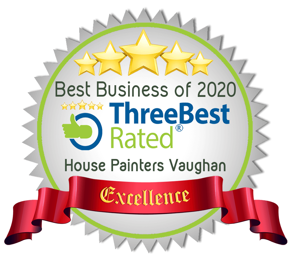 Richmond Hill Painters winner of Three best Painters in the area