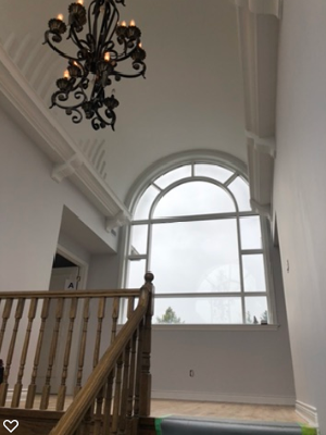 Painting services for Beautiful atrium foyer
