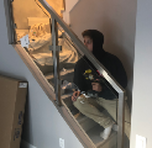 stainless steel railing installation in Vaughan